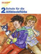 Schule für die Altblockflöte. H.2