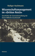 """Wissenschaftsm. im """"Dritten Reich"""". 2Bde"""