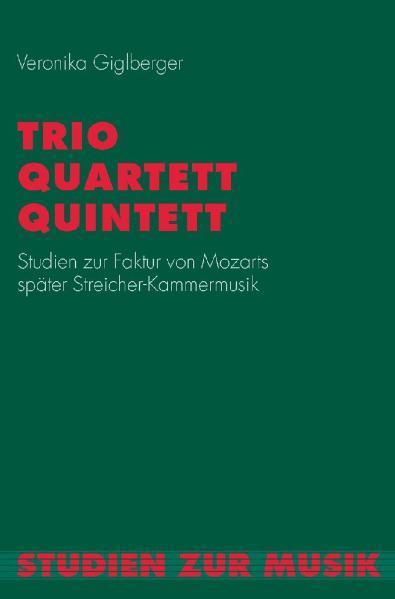 Trio, Quartett, Quintett als Buch von Veronika ...