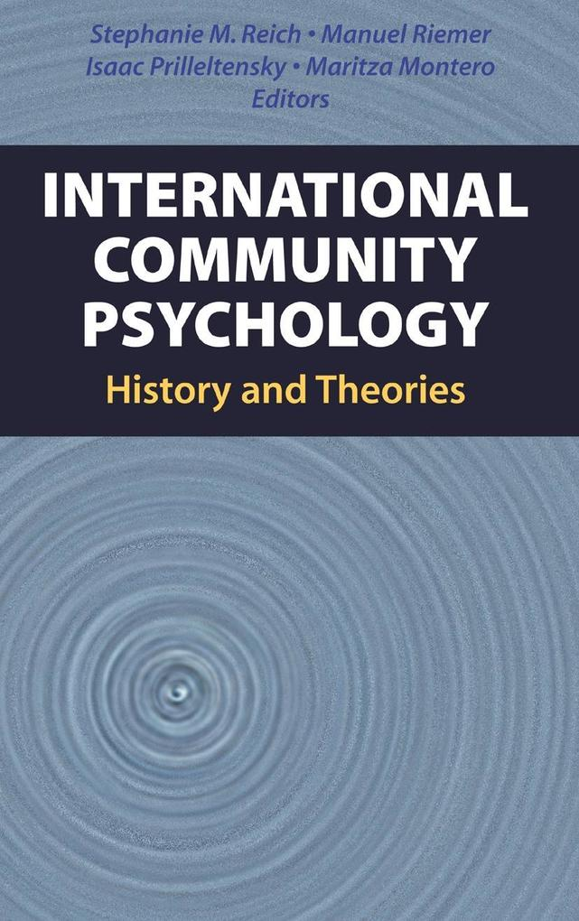 International Community Psychology als Buch von