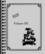 The Real Book - Volume III: C Edition