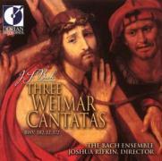 Three Weimar Cantatas BWV 182,12,172