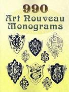 990 Art Nouveau Monograms