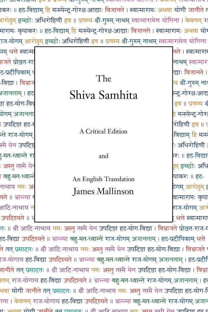 The Shiva Samhita als Buch (kartoniert)