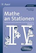 Mathe an Stationen. Klasse 3