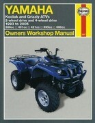 Yamaha Kodiak & Grizzly Atvs: 2-Wheel Drive and 4-Wheel Drive 1993 to 2005