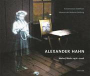 Alexander Hahn – Werke