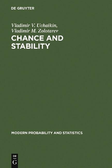 Chance and Stability als Buch von Vladimir V. U...