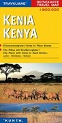 KUNTH Reisekarte Kenia 1 : 800 000