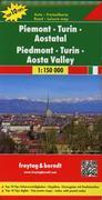 Piemont - Turin - Aostatal 1 : 150 000