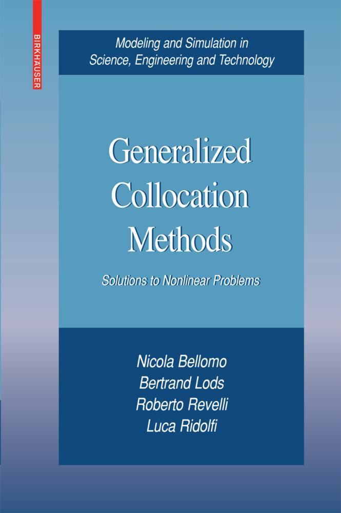 Generalized Collocation Methods als Buch (gebunden)