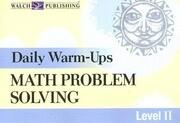Math Problems Solving Level 2