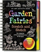 Garden Fairies [With Scratch Off Pencil]