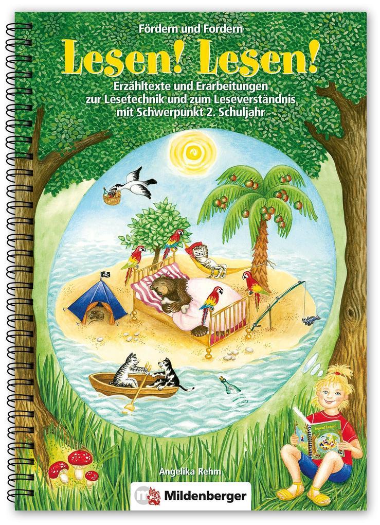Lesen! Lesen! als Buch von Angelika Rehm