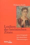 Lexikon der lateinischen Zitate