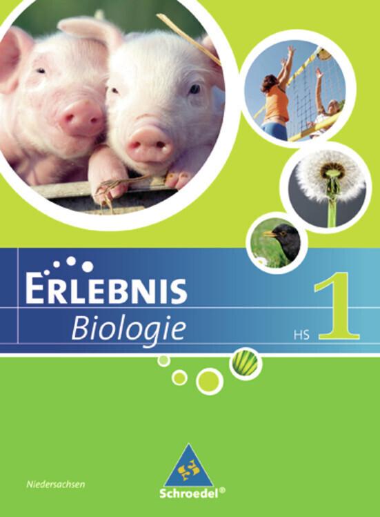 Erlebnis Biologie. Schülerband 1. Ausgabe 2007. Hauptschule Niedersachsen als Buch