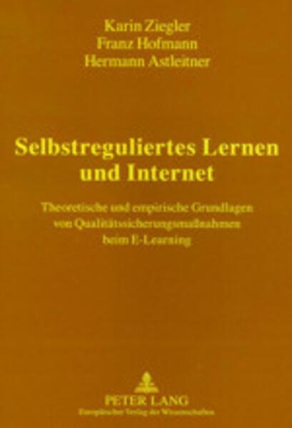 Selbstreguliertes Lernen und Internet als Buch ...