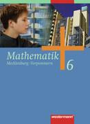 Mathematik 6. Schülerband. Regionale Schulen. Mecklenburg-Vorpommern