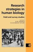 Research Strategies in Human Biology: Field & Survey Studies