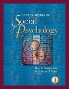 Encyclopedia of Social Psychology 2 Vol Set
