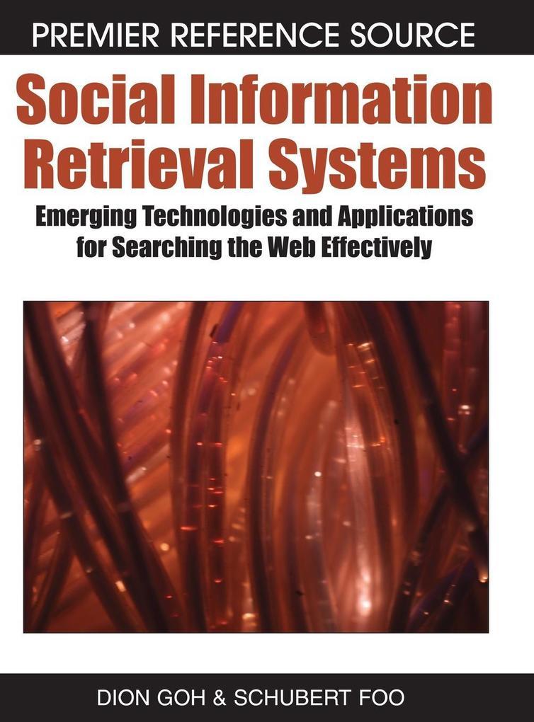 Social Information Retrieval Systems als Buch von