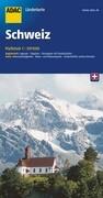 ADAC LänderKarte Schweiz 1 : 301 000