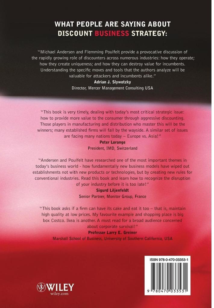 Discount Business Strategy als Buch von Michael...