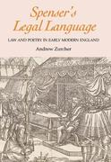Spenser's Legal Language: Law and Poetry in Early Modern England