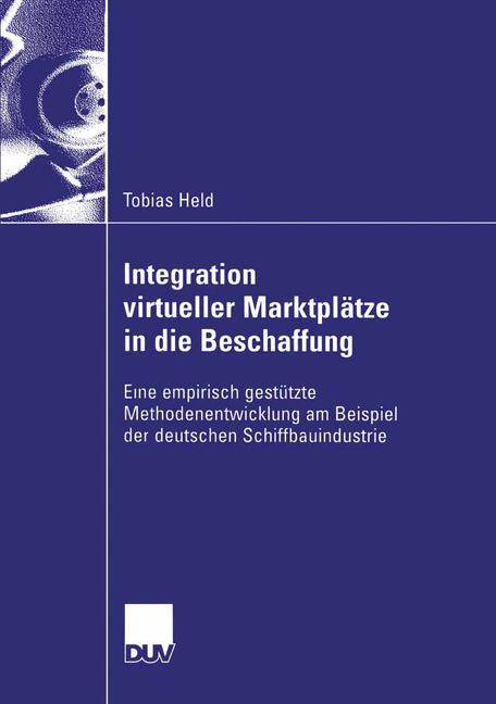 Integration virtueller Marktplätze in die Besch...