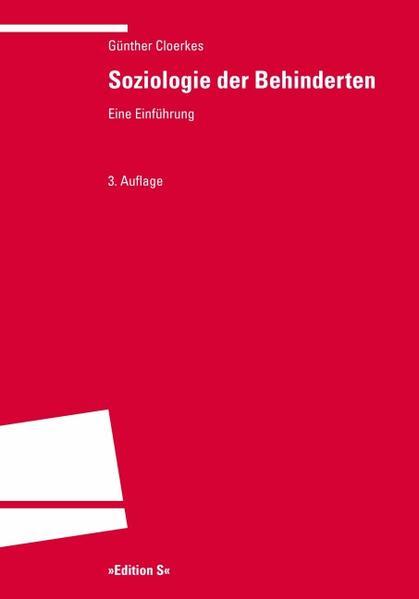 Soziologie der Behinderten als Buch