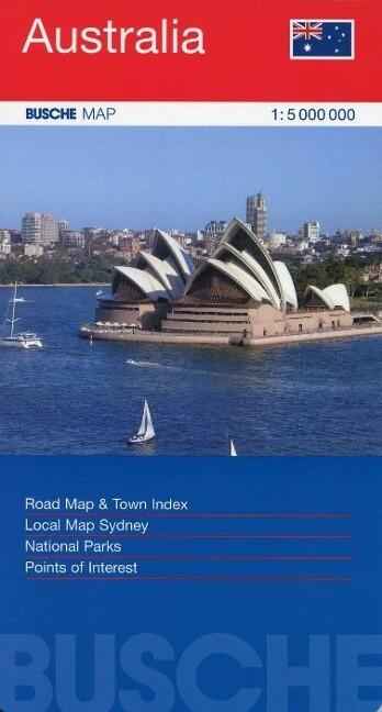 Australien 1 : 5 000 000 als Buch von