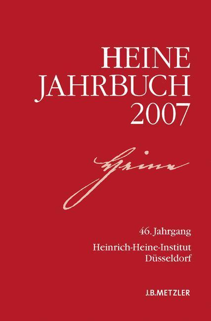 Heine-Jahrbuch 2007 als Buch von