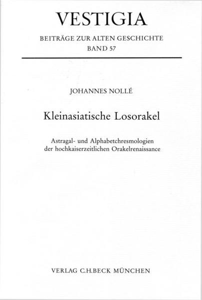 Kleinasiatische Losorakel als Buch