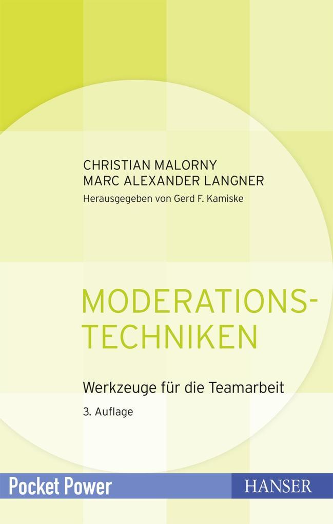 Moderationstechniken als Buch