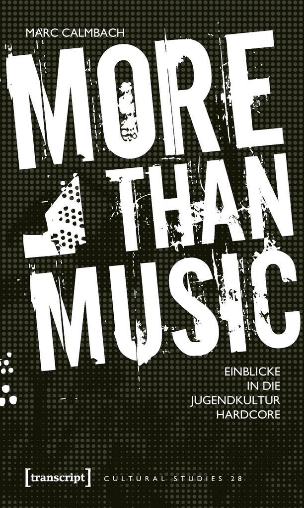 More than Music als Buch von Marc Calmbach