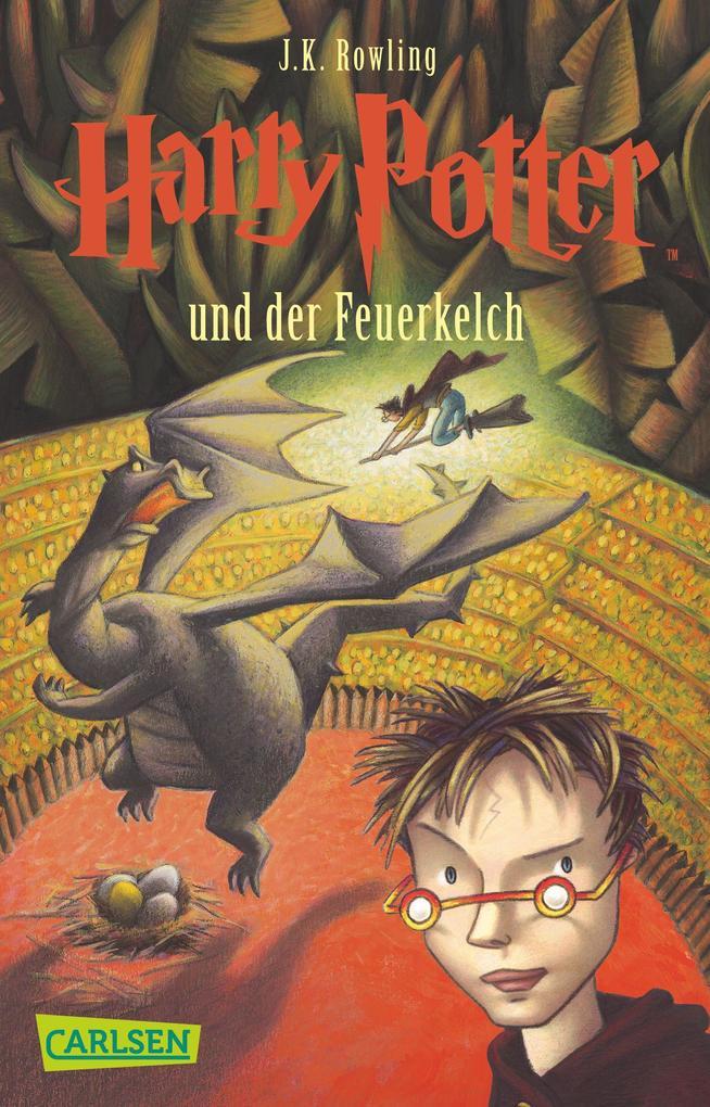 Harry Potter 4 und der Feuerkelch. Taschenbuch als Taschenbuch