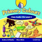 Primary Colours Level 4 Class Audio CDs