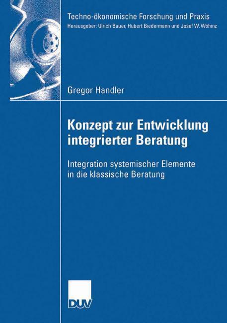 Konzept zur Entwicklung integrierter Beratung a...