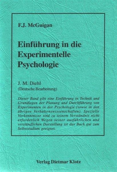 Einführung in die Experimentelle Psychologie al...