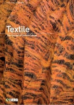 Textile Volume 6 Issue 1: The Journal of Cloth and Culture als Taschenbuch