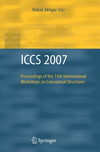 ICCS 2007 als Buch von