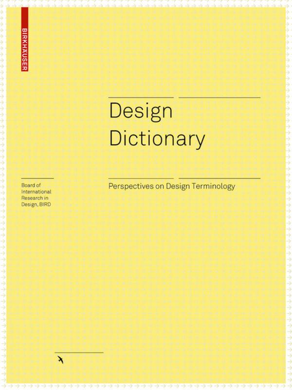 Design Dictionary als Buch von
