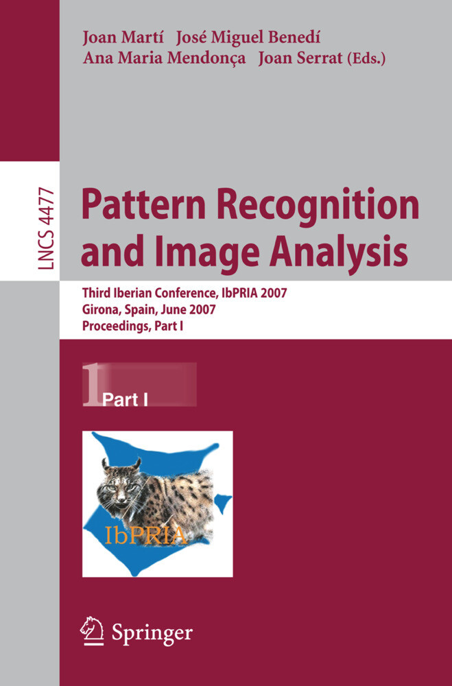 Pattern Recognition and Image Analysis als Buch...