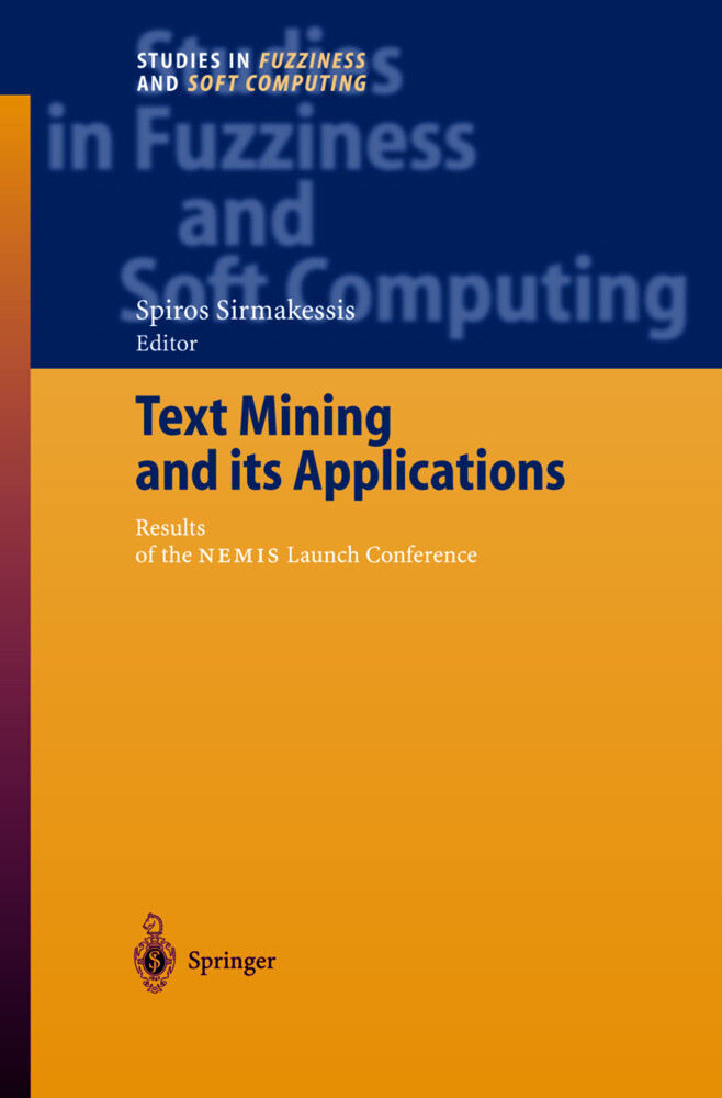 Text Mining and its Applications als Buch von