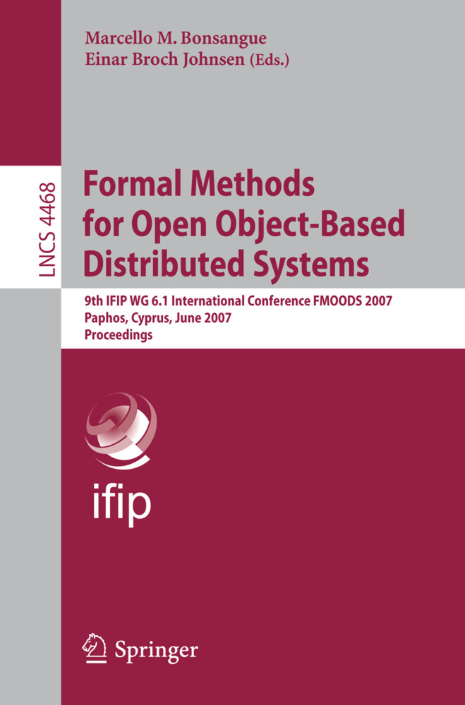 Formal Methods for Open Object-Based Distributed Systems als Buch (kartoniert)