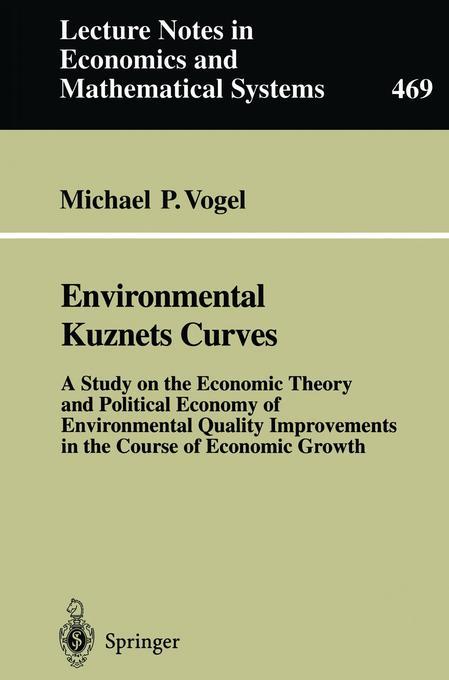 Environmental Kuznets Curves als Buch von Micha...