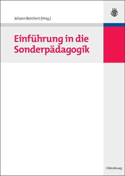 Einführung in die Sonderpädagogik als Buch von ...