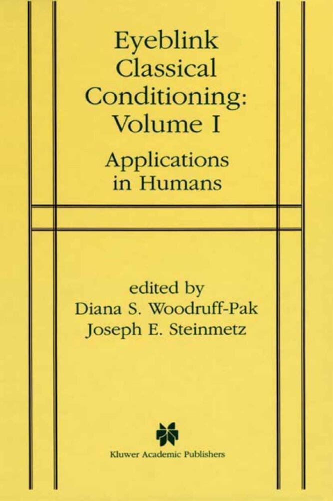 Eyeblink Classical Conditioning Volume 1 als Buch (gebunden)