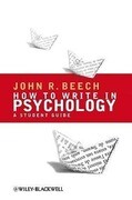 How to Write in Psychology