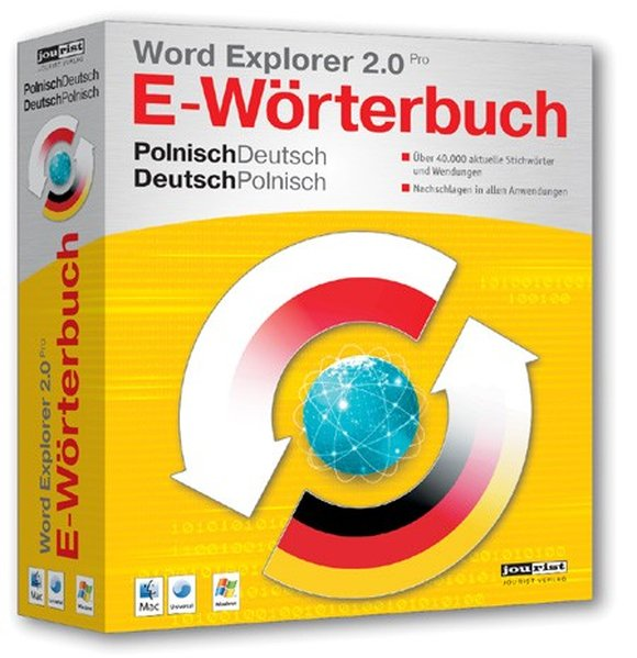 Word Explorer 2.0 Pro E-Wörterbuch Polnisch-Deu...